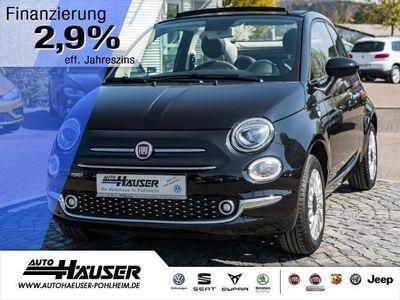 gebraucht Fiat 500C 1.2 8V S+S LOUNGE Cabrio NAVI KLIMA ALU PDC