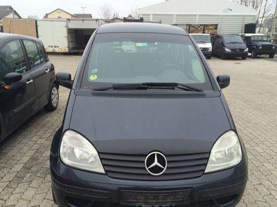 gebraucht Mercedes Vaneo Compact Van 1.7 CDI