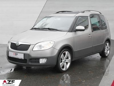 gebraucht Skoda Roomster Scout 1.6 Scout+Panoramadach+Alu+Parkhilfe