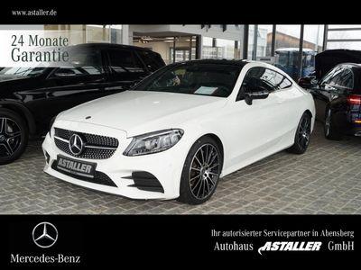 gebraucht Mercedes C400 4M Coupé AMG+Pano+Airbody+Burmes+Night+19'