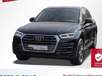 gebraucht Audi Q5 2.0TDIqu. 2x S line/Standhzg/LED/ACC/Virtual