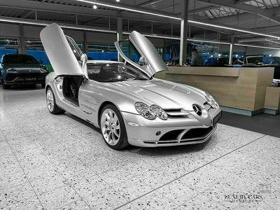 gebraucht Mercedes SLR McLaren Coupe SILVER / RED