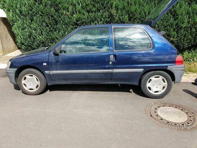 gebraucht Peugeot 106 blau ohne TÜV