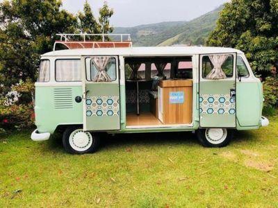 gebraucht VW T2 Traum CamperBulli Mint