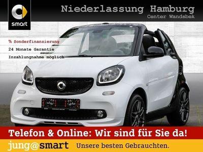 gebraucht Smart ForTwo Cabrio 66kW BRABUS DCT cool&Media Sport als Cabrio/Roadster in Hamburg