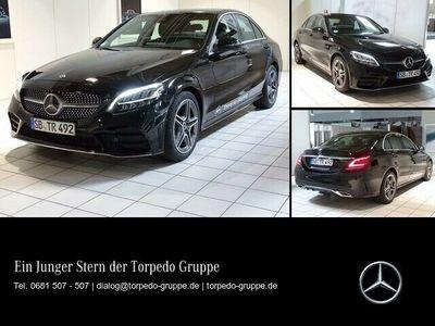 gebraucht Mercedes C200 AMG Navi+LED+NAVI+WIDESCREEN+KAMERA+KEYLES