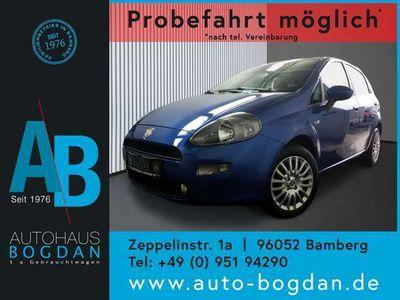 gebraucht Fiat Punto Neu Easy Navi*Klima*Blue & Me*AUX*USB*TÜV neu