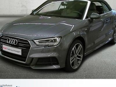 used Audi A3 Cabriolet 1.5 TFSI S-TRONIC*LED*ALCAN.*S-LINE