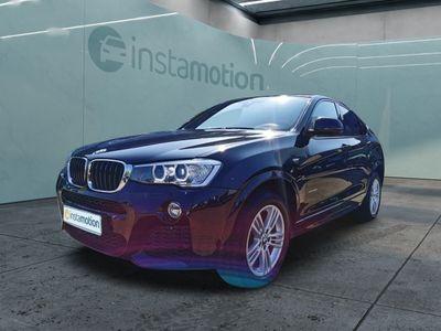 gebraucht BMW X4 X4xDrive20i M Sport EURO 6 Aut Navi Xenon Cam Temp Klima PDC