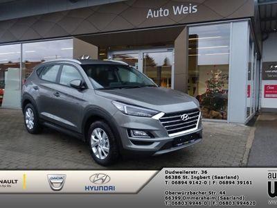 gebraucht Hyundai Tucson 1.6 Turbo 2WD Automatik Led-Scheinwerfer, Navigation, Sitzheizung