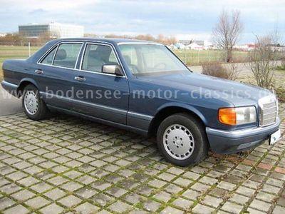 gebraucht Mercedes 420 aus`90,Klima,nautikblau,Leder grau,gepfl.!