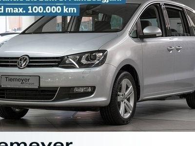 gebraucht VW Sharan 2.0 TDI DSG 4M Comfortline Navi AHK Xenon LM17