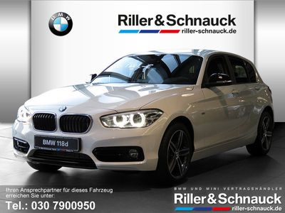 gebraucht BMW 118 dA Sport Line 17″ NAVI LED HiFi PDC SHZ FSE