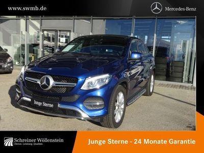 gebraucht Mercedes GLE400 4M Coupé Fahrassist./Pano.-Dach/HUD/LED