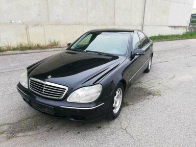 gebraucht Mercedes 320 W220BENZIN TÜV 05.2020 VOLL FAHRBEREIT
