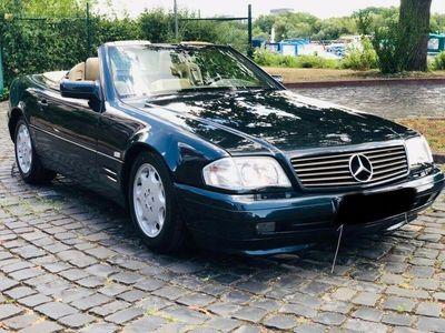 gebraucht Mercedes SL320 Cabrio Top Zustand Xenon Aut. LEDER