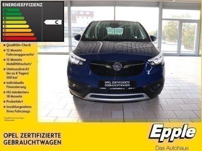 gebraucht Opel Crossland X INNOVATION 1.2 EU6d-T LED Navi Parklenkass. Rückfahrkam. Fernlichtass. PDCv+h