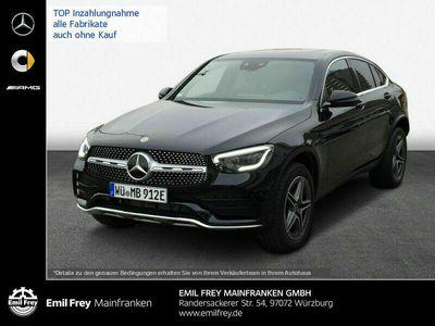gebraucht Mercedes 300 GLC-Coupede 4M 9G*AMG*Distronic*MBUX*AHK*