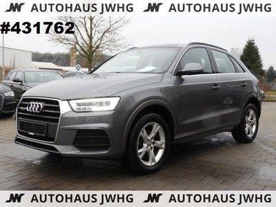 gebraucht Audi Q3 2.0TDI quat S-Tron Navi+ LED Tempo 17Alu APS+
