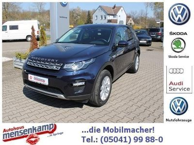 gebraucht Land Rover Discovery Sport TD4 KLIMA XENON NAVI LEDER