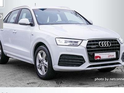 gebraucht Audi Q3 2.0 TDI quattro LED Navi 3x S line AHK EU6