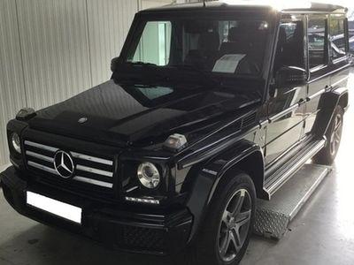 gebraucht Mercedes G500 Sportpaket AHK Distronic StHzg SHD 19''