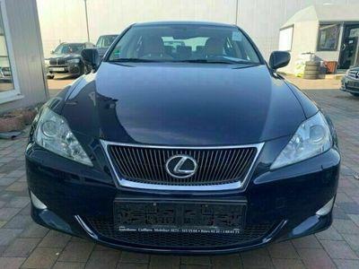 gebraucht Lexus IS220d Sport Line Leder Xenon Navi Dyn. Kurvenlicht e-Sit