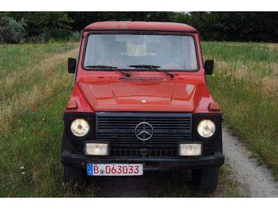 gebraucht Mercedes G230 GE 2.HAND+SCHECKHEFT + GASANLAGE + AHK+ZV