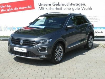 "gebraucht VW T-Roc Sport 2.0 TSI DSG 4 Motion 18"" LED Navi ACC DAB"