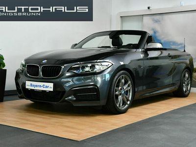 gebraucht BMW M235 Cabrio xDrive Sport-Auto Navi Sportbremse