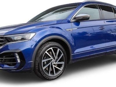 gebraucht VW T-Roc T-RocR 2.0 TSI DSG 4Motion Leder Panoramadach Navi LED ACC App-Connect
