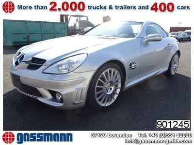 gebraucht Mercedes SLK55 AMG AMG Autom./Sitzhzg./Klima/NSW/Tempomat