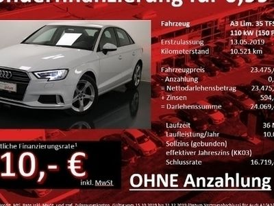 gebraucht Audi A3 Limousine Sport 35 TFSI Xenon ConnectivityPaket