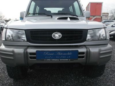 gebraucht Hyundai Galloper 2,5 TD Exceed (5-Gang)
