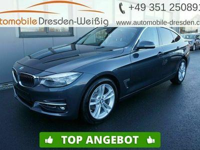 gebraucht BMW 318 Gran Turismo d Luxury Line*Navi*HeadUp*Leder