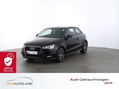 gebraucht Audi A1 1.4 TFSI  admired SHZ PDC Sitz-Paket  schwarz