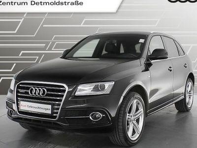 gebraucht Audi Q5 2.0 TDI qu. S line Sport Edition plus Assistenz Teilleder 20Zoll R-Kamera S tronic