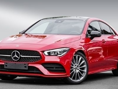 gebraucht Mercedes CLA180 Coupé AMG+Pano.-Dach+Night+LED+PDC