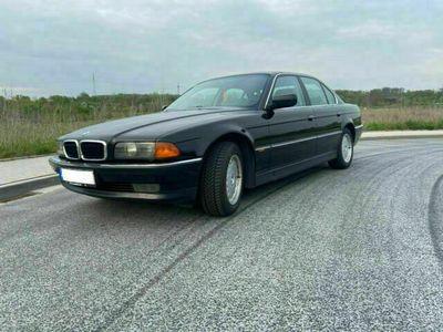 gebraucht BMW 728 E38 I Schwarz 2, im guten gebrauchten Zustand