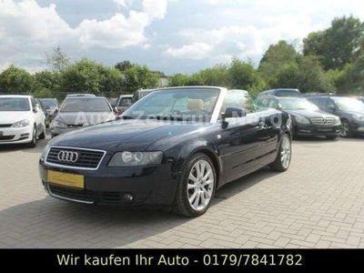 gebraucht Audi A4 Cabriolet *LEDER* *ELEKT. SITZE*