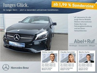gebraucht Mercedes A180 AMG Night-Paket SHZ Rückfahrk. Panorama