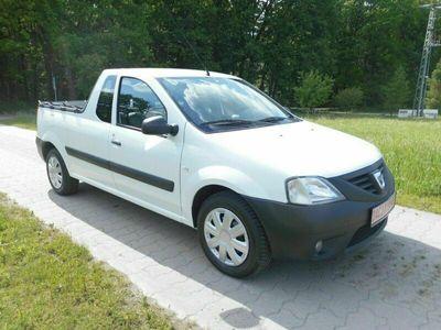 gebraucht Dacia Logan Pick-Up 1.5 DCI-KLIMA-PLANE-AHK-EU 5 DPF!! als SUV/Geländewagen/Pickup in Schleifreisen