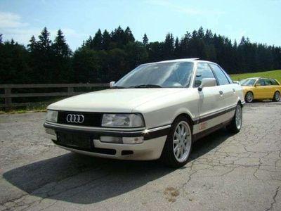gebraucht Audi 90 quattro 20V Perlmutweiß Vollausstattung TOP