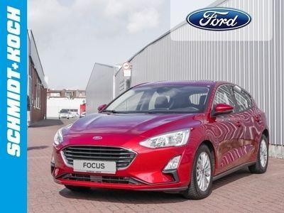 gebraucht Ford Focus 1.0 EcoBoost Titanium Automatik LED-Scheinw.