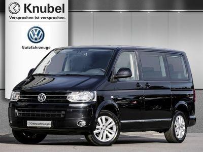 gebraucht VW Multivan T5Highline 2.0 TDI DSG Navi Leder AHK eTüren