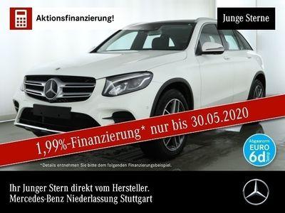 gebraucht Mercedes GLC250 4M AMG Fahrass 360° Pano Distr. LED Navi