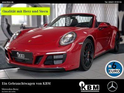 gebraucht Porsche 911 Carrera 4 Cabriolet CARRERA 4 GTS °SP-SCHAL S°CARBON°-P°°