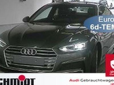 gebraucht Audi A5 Coupé 40 TFSI S line LM 20, Leder, Verkehrsz., Kamera, Navi+, Virt. Cockp., e Sitze, LED