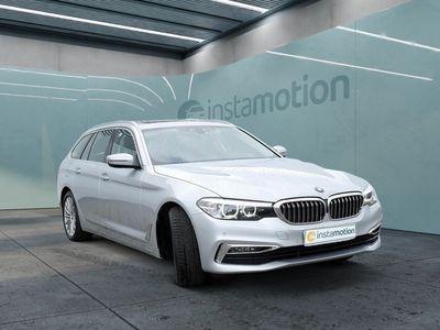 gebraucht BMW 520 520 dA Touring Luxury Line PANO+LEDER+NAVI+LED+ME