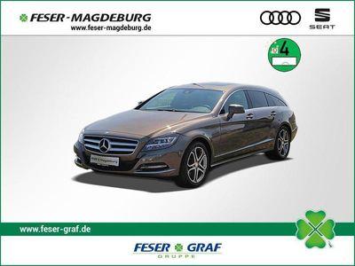 gebraucht Mercedes CLS350 Shooting Brake CDI Shooting Brake/AIR/Leder/Dach